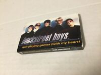 Backstreet Boys Quit Playing Games With My Heart Single Cassette Tape