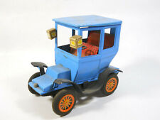 Tin Car Collectible Japan Sign Of Quality Blue Vintage CAR