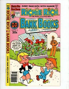 Richie Rich Bank Books #49, HARVEY WORLD,1980, bag/board, C1168-B