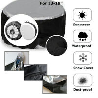 """Universal Car SUV 13-19"""" Tote Spare Tire Tyre Storage Cover Wheel Bag Protector"""