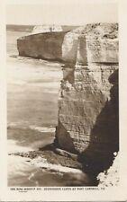 APC236) PC RP Stupendous Cliffs at Port Campbell, Victoria, The Rose Series