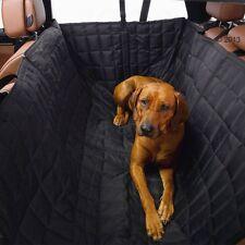 Cubierta de asiento de coche de perro Acolchada Aislado Repelente al Agua Lavable a máquina alta lados