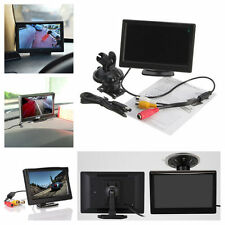 "5"" TFT-LCD Car Rear View Rearview Monitor With Stand Reverse Backup Camera"