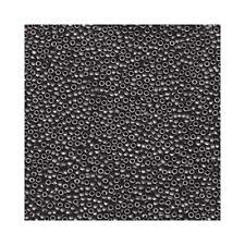 Miyuki Seed Beads 15/0 Dark Gray 15-2065 Matte Transparent 8.2g Round Grey