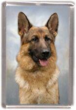 German Shepherd Dog Fridge Magnet by Starprint