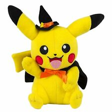 """Tomy Licensed Halloween Pikachu Cosplay Stuffed Plush 8""""  with Tags"""