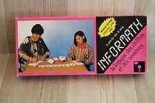 Rare : jeu Informath - Médaille d'Or Concours Lépine 1982 - jeu de logique