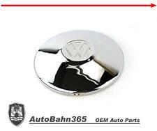 New VW logo Chrome Hub Cap Late Beetle Bug Bus Ghia Type-3 Vanagon 251601151A