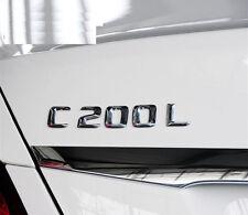 E661 C200 C200L Emblem Badge auto aufkleber 3D Schriftzug Plakette car Sticker
