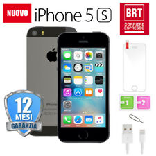 NUOVO IPHONE 5S 16GB NERO GREY ORIGINALE APPLE RIGENERATO 16 GB IT