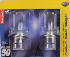 Hella H7 Premium Xenon Halogen Globes Plus 50