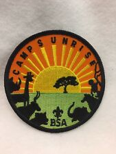 Boy Scouts -   Camp Sunrise BSA  patch