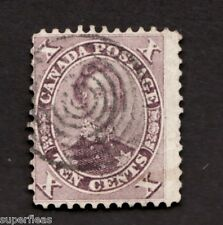 1859 Canada #17 Used Θ G Nice light cancel HRH Prince Albert