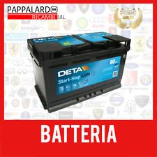 BATTERIA PER AUTO EXIDE DK800 80 AH AMPERE 800 EN 12 VOLT START STOP SERVIZI AGM