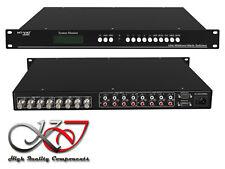 Matrix Switch Splitter BNC - 4 vers 4 Ports