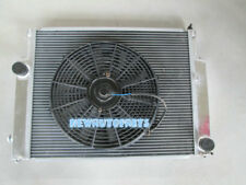 Aluminum Radiator + Fan For BMW E36 M3 325 328 M3 MT 1992-1999 93 94 95 96 97 98
