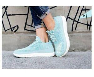 ALTRA Women's VALI Blue FIT4HER Knit Weave Sneaker Running Jog Zero Drop US 10.5