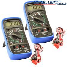 2pack Digital Multimeter Xl 830l Lcd Voltmeter Ammeter Ohmmeter Ohm Volt Tester