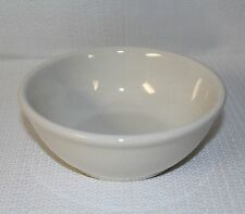 """CAC China Restaurant Ware Ivory Used Soup Bowls 6"""" In Diameter"""