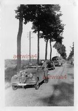 Franz. Beute PKW Renault Primaquatre LKW Latil in Holland