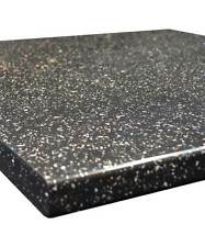 Black Sparkle Gloss 30mm Laminate Kitchen Worktop - Fast & Free Delivery
