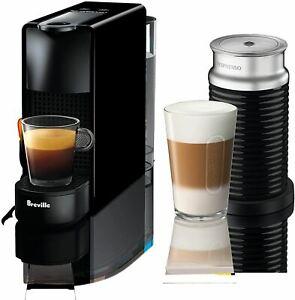 Breville-Nespresso USA BEC250BLK1AUC1 Nespresso Essenza Mini Expresso Machine, O