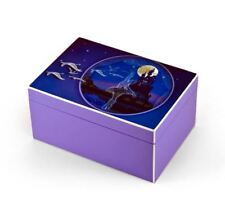 Hi - Over 400 Song Choices - Gloss Purple Enchanted Ballet Musical Jewelry Box