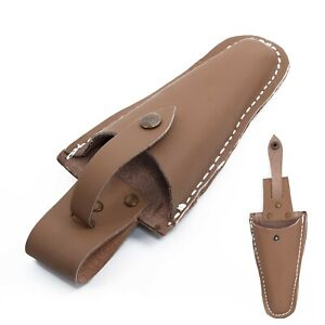 Leather Sheath Tool Holsters Belt Holder Pouch Bag For Pliers Pruning-Shears