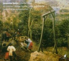 Jacqueline FONTYN Chamber Music CD Cypres SEALED Orpheus Qt Crommen Terseleer