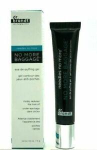 Dr. Brandt 0.5 oz  No More Baggage Eye De-Puffing Skincare Gel