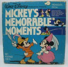 """DISNEY Super 8 """"Mickey's Memorable Moments"""" - No. 636 - 339 Ft."""