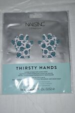Nailsinc London Thirsty Hands Super Hydrating Mask New Sealed .60 oz