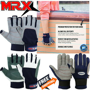 Sailing Gloves Yachting Paddling Kayaking Fishing Half Finger Water Sports Glove