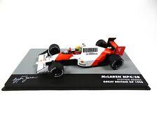 Formule 1 McLaren MP4/5B Ayrton Senna GP GB 1990 - 1/43 Voiture F1 712