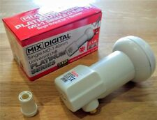 Mix Digital MD-1 Platinum Single LNB 0.1 Gold Output Rubber Boot 2 Year Warranty