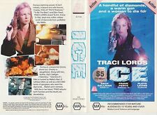 Vhs * ICE * 1993 21st Century Issue - Traci Lords - Adult Crime Action Thriller