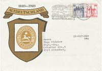 BERLIN 1980 Burgen und Schlösser Berlin 10 Pf neben 25 Pf – sehr selt. Privat-GU