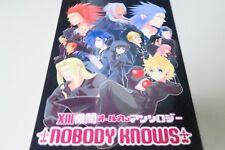 KINGDOM HEARTS doujinshi Organization XIII NOBODY KNOWS (B5 146pages)