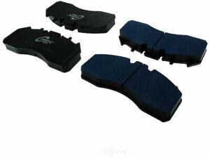 Rear Centric Brake Pad Set fits Pierce Mfg. Inc. Saber 2004-2008 44ZHVN