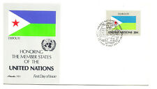 United Nations #350 Flag Series 1981, Djibouti, Artmaster Fdc