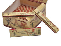 HORNET King Size Classic Brown Natural Hemp Smoking Rolling Papers 50 Booklets
