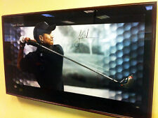 Tiger Woods Autographed SasQuatch Driver Breaking Through Ltd 33/100 Coa Uda