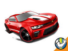 Hot Wheels Cars - '16 Camaro SS Red
