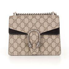 GUCCI 1750$ Beige Dionysus GG Supreme Mini Bag