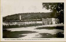 1941 Sonotone Laboratories & Manufacturing Plant Elmsford NY RPPC Postcard B19