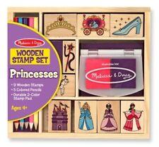 Melissa & Doug - Wooden Princess Stamp Set MND2418