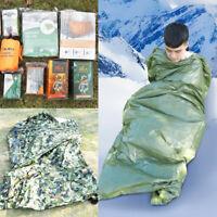Emergency Sleeping Bag Thermal Waterproof For Outdoor Survival  Hiking Camping