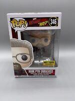 Hank Pym Unmasked - Hot Topic Exclusive Disney Marvel Ant-Man #346 Funko Pop! B