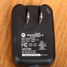 Motorola SPN5185A Travel Wall Charger 5102 AC Power Adapter OEM