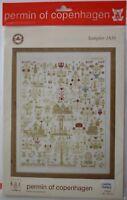 Permin of Copenhagen Graphs, Ecru Sampler #159442